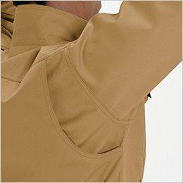 バートル 8051 ヴィンテージソフトツイルジャケット(男女兼用) アームノーフォーク