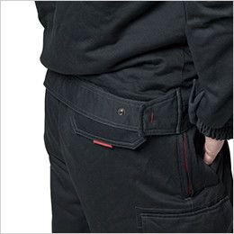 バートル 8110 チノクロス防寒ジャケット(大型フード付)綿100%(男女兼用) ドットアジャスター(脇ゴムなし