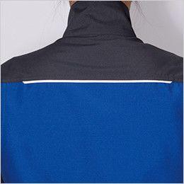 バートル 9086 [春夏用]ストレッチエアリークロス半袖ジャケット(男女兼用) (42.ロイヤルブルー、10.グリーンのみ)