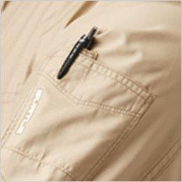 バートル AC1111 エアークラフト[空調服]長袖ジャケット(男女兼用) ポリ100% ペン差しポケット