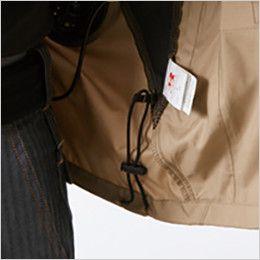 バートル AC1111 エアークラフト[空調服]長袖ジャケット(男女兼用) ポリ100% ドローコード