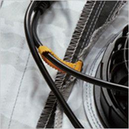 バートル AC1111 エアークラフト[空調服]長袖ジャケット(男女兼用) ポリ100% コードループ