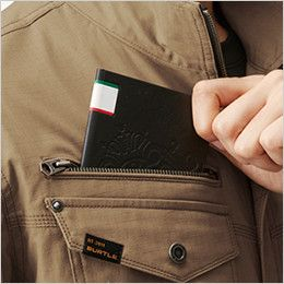 AC1131SET バートル エアークラフトセット[空調服]長袖ブルゾン(男女兼用) 綿100% レベルブック収納ポケット(深さ21cm)