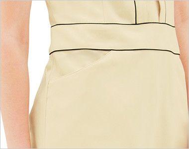 CL-0243 キャララ(Calala) チュニック(女性用) ポケット付き