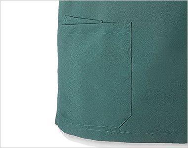 MZ-0021 ミズノ(mizuno) スクラブ(男女兼用) 中ポケットあり