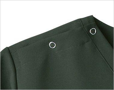 7013SC FOLK(フォーク) 国境なき医師団 スクラブ(男女兼用) 着脱のしやすいホック(リングドット)付き