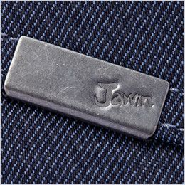 自重堂 52602 JAWIN ストレッチノータックカーゴパンツ 右カーゴポケット ロゴ入りメタルクリップ付