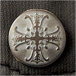 自重堂 55104 [春夏用]JAWIN 長袖シャツ(綿100%) オリジナルデザインボタン