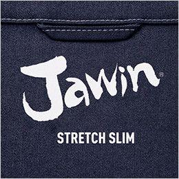 自重堂JAWIN 56500 [春夏用]ストレッチ長袖ジャンパー 背当てプリント