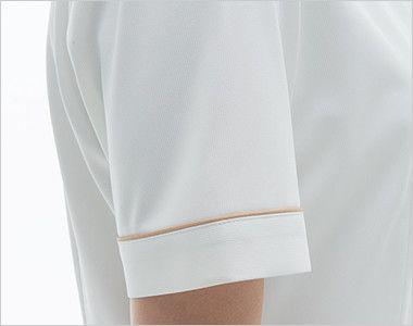 LH6277 ナガイレーベン(nagaileben) ビーズベリー 半袖ワンピース(女性用) 女性らしい優しさを感じさせるかわいい袖