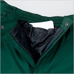 2809 桑和 防水防寒パンツ カイロポケット