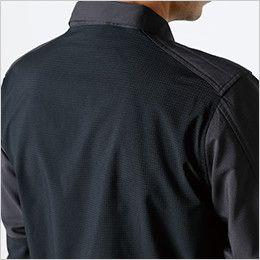 84605 TS DESIGN ハイブリッドストレッチシャツ(男女兼用) ストレッチエアー