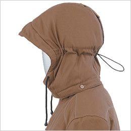 ジーベック 212 綿100%防寒ブルゾン 襟ボア アジャストストッパー