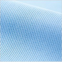 ジーベック 6015 制電長袖ポロシャツ(胸ポケット・左袖ペン差し付き)(男女兼用) 生地アップ