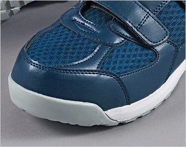 ジーベック 85112 メッシュ静電安全靴 樹脂先芯 樹脂先芯