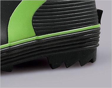 ジーベック 85711 ショート丈セフティ長靴 スチール先芯