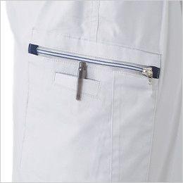 ジーベック 9656 [春夏用]クールボディ ツータック ラットズボン ファスナー仕様でペン差し付き