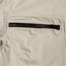 ジーベック XE98013 [春夏用]空調服 制電半袖ブルゾン ファスナー付きポケット