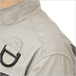 ジーベック XE98102SET [春夏用]空調服セット ハーネス対応 綿100%現場服ブルゾン 肩切替刺し子肩当て付き