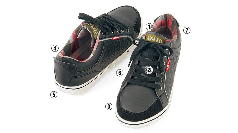AZ51701 アイトス タルテックス 安全靴 スチール先芯 商品詳細・こだわりPOINT