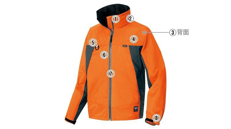AZ56301 アイトス ディアプレックス 全天候型ジャケット 商品詳細・こだわりPOINT