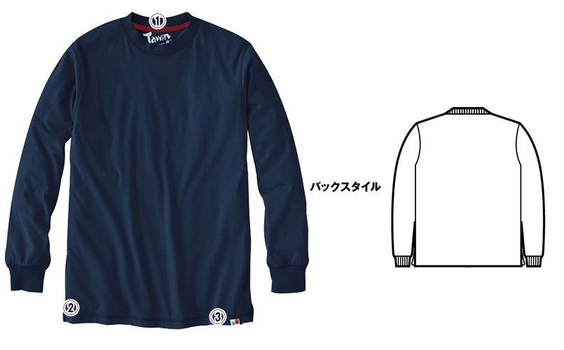 自重堂JAWIN 55304 吸汗速乾長袖ドライTシャツ(胸ポケット無し) 商品詳細・こだわりPOINT