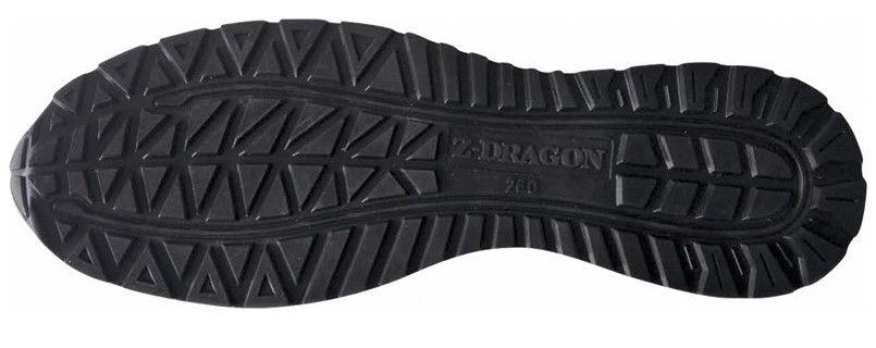 S3161 自重堂Z-DRAGON 耐滑・軽量のセーフティスニーカー 樹脂先芯 アウトソール・靴底