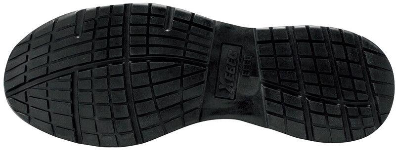 ジーベック 85140 耐滑セフティシューズ 樹脂先芯 アウトソール・靴底