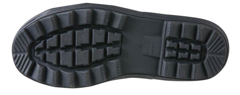 ジーベック 85711 ショート丈セフティ長靴 スチール先芯 アウトソール・靴底